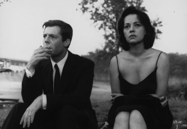Marcello Mastroianni e Jeanne Moreau - La notte