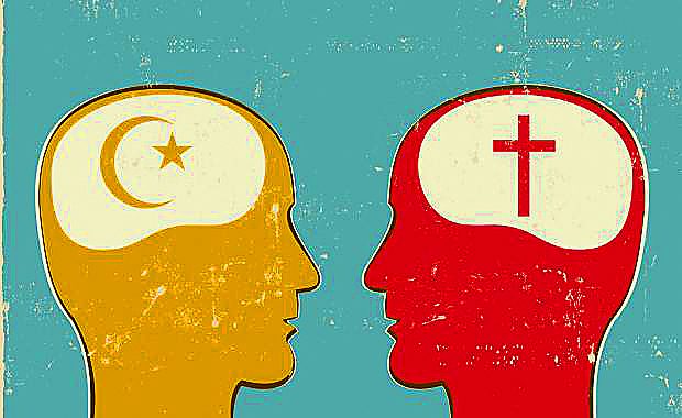 islam-and-christianity-heads